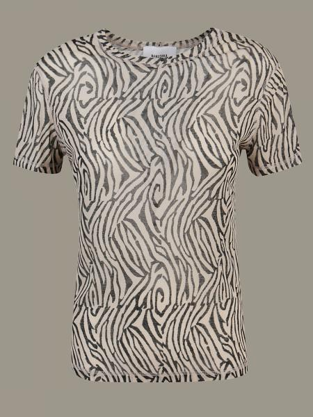 T-shirt Nanushka stampata