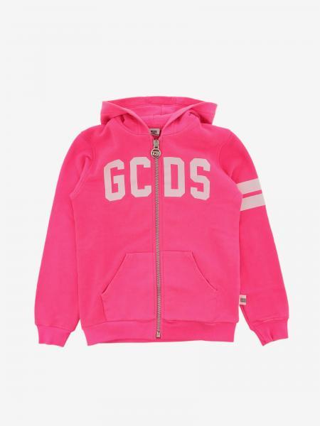 Gcds sweatshirt with hood and zip