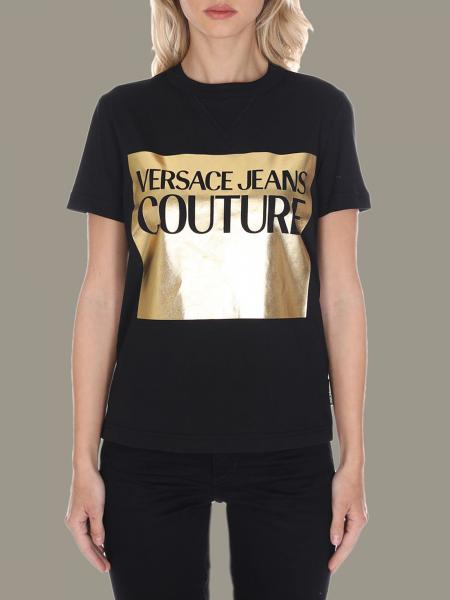 T-shirt Versace Jeans con stampa laminata