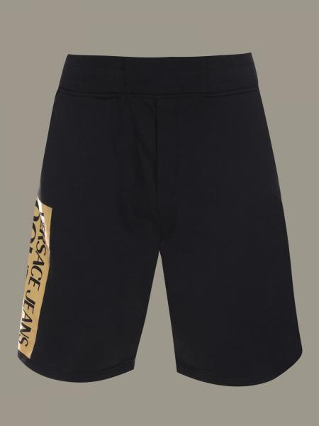 Versace Jeans shorts with laminated logo