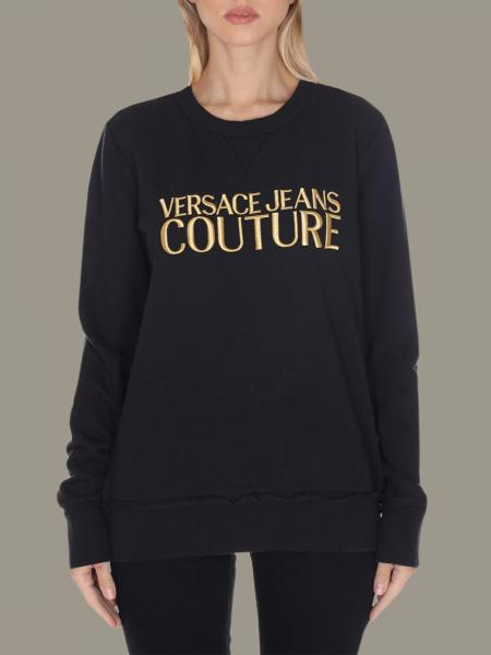 Versace Jeans crewneck sweatshirt with logo