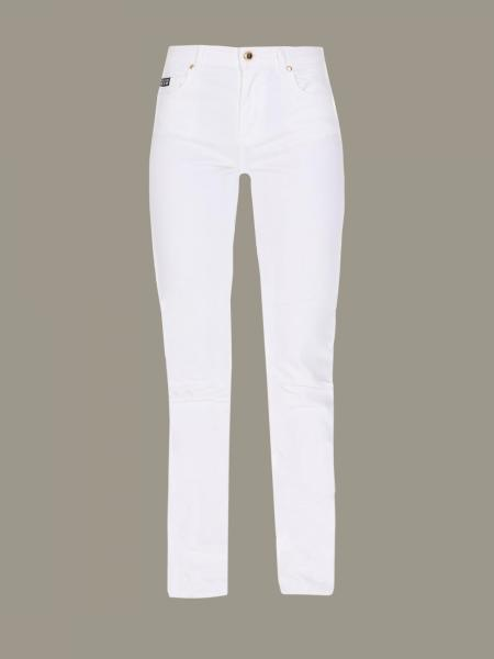 Versace Jeans trousers with embroidered logo