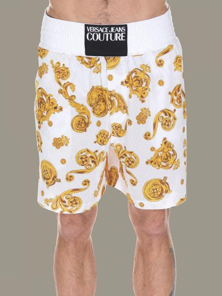 Pantaloncino Versace Jeans con stampa barocca