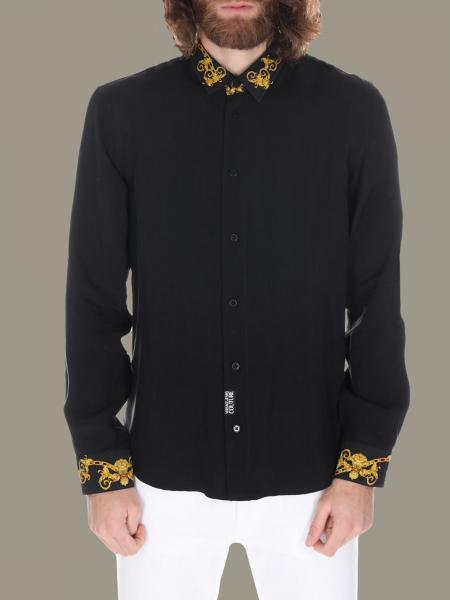 Versace Jeans shirt with baroque finishes