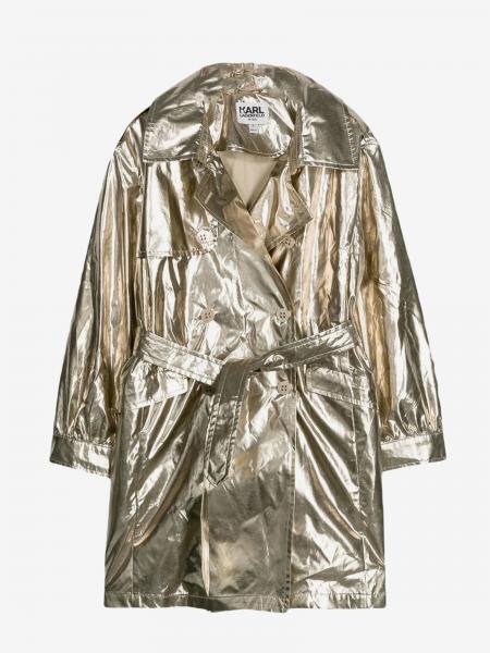 Karl Lagerfeld Kids laminated jacket