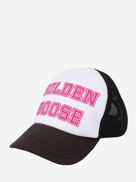 Golden Goose Cap mit großem Logo