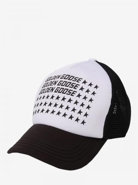 Golden Goose kids: Golden Goose hat with logo and stars