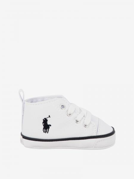 Sneakers Polo Ralph Lauren in tela e pelle