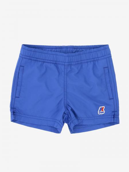 K-way logo泳裤