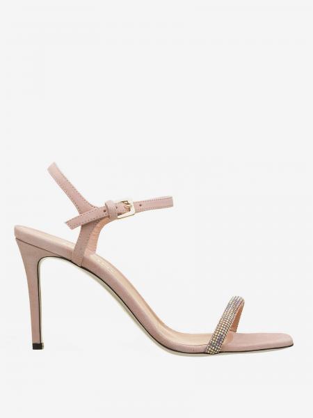 Flache sandalen damen Pollini