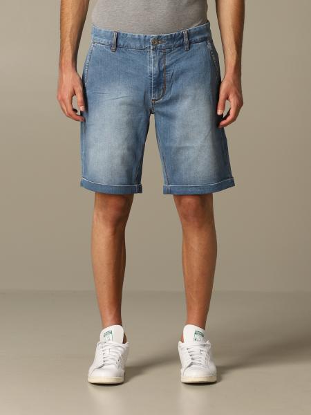 Bermuda di jeans Sun 68 in denim used