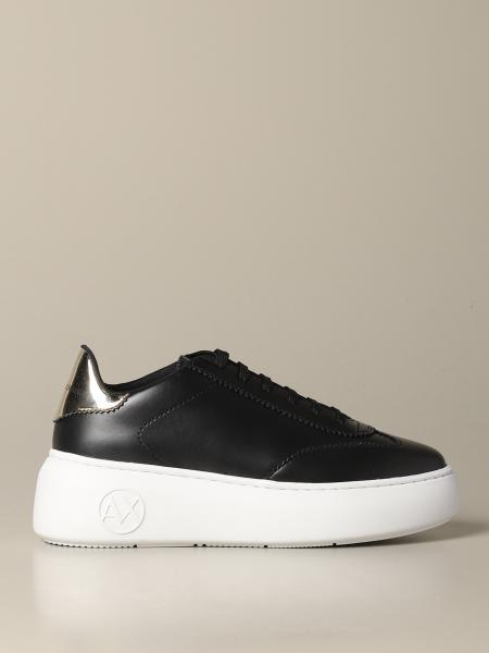 Baskets Armani Exchange en cuir