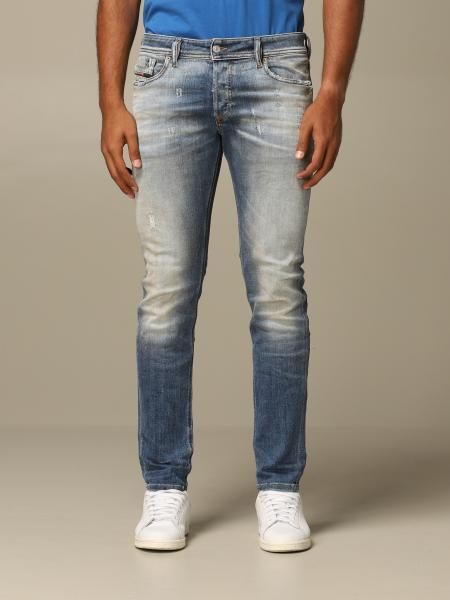 Diesel 5-pocket used denim jeans