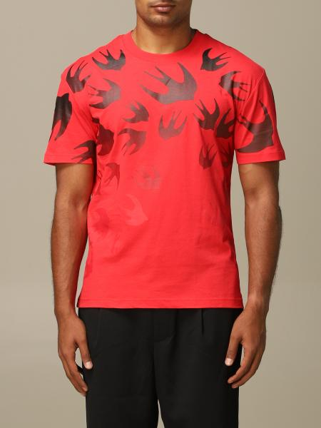 Mcq Mcqueen T-shirt with all over swallows
