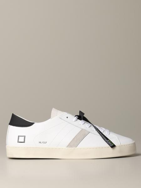 Sneakers D.A.T.E. in pelle con logo