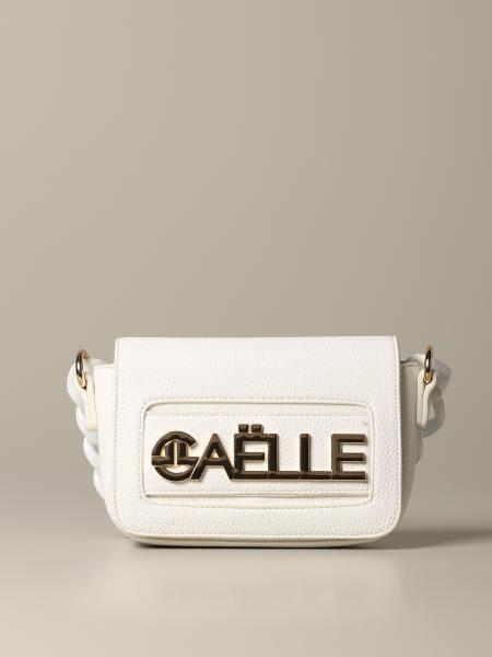 Borsa a tracolla Gaelle Bonheur con big logo