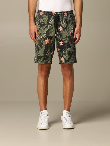 Sun 68 patterned jogging bermuda shorts