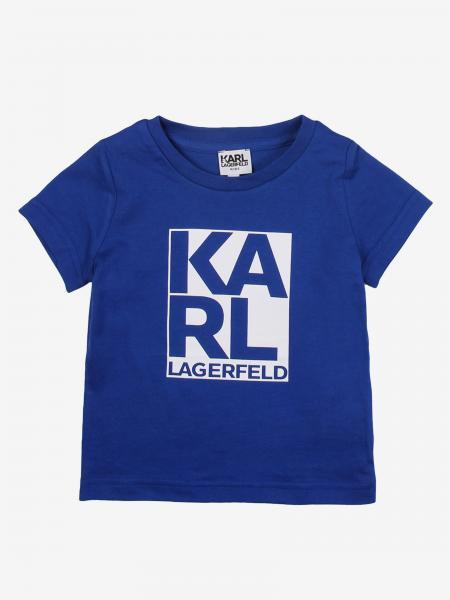 Karl Lagerfeld t-shirt with logo print