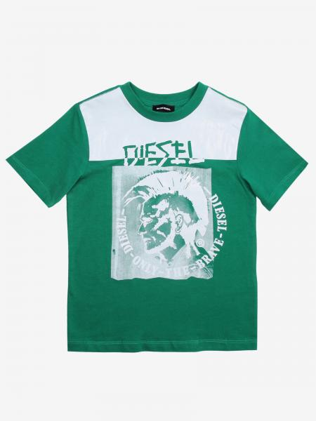 Diesel T-Shirt mit Logo-Print