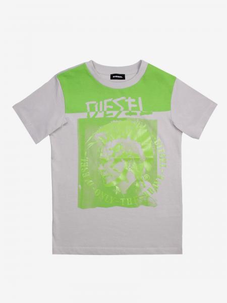 T-shirt Diesel con stampa logo