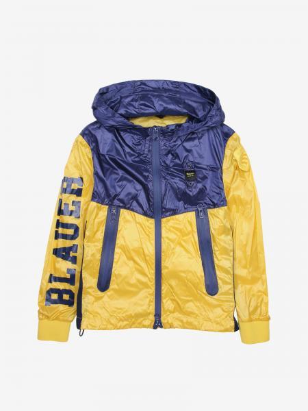 Giacca di nylon Blauer con cappuccio