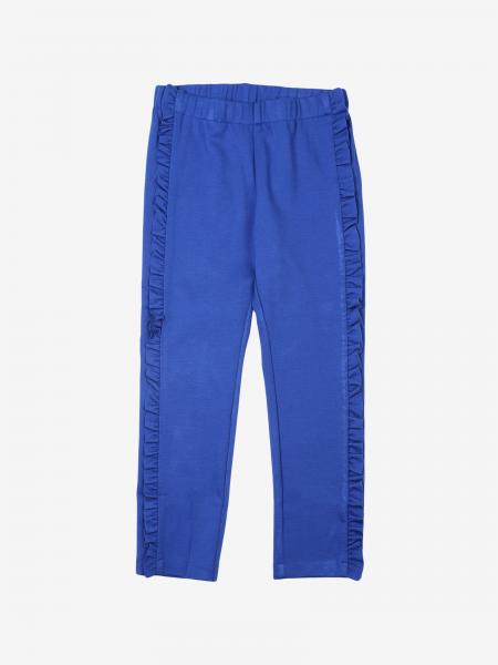 Il Gufo trousers with micro rouches