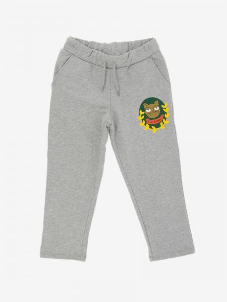 Pantalone jogging Mini Rodini con logo