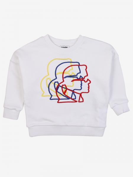 Karl Lagerfeld crewneck sweatshirt with logo