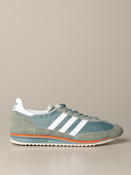 Adidas Originals sl72 Sneakers aus Wildleder und Nylon
