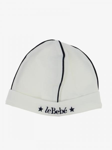 Cappello Le Bebé con bordi colorati e logo
