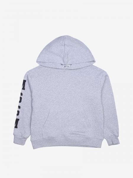 Msgm Kids sweatshirt with hood and logo