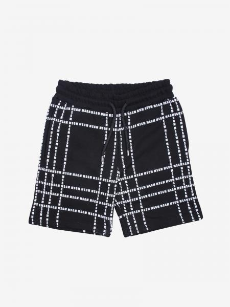 Msgm Kids jogging shorts with all over logo