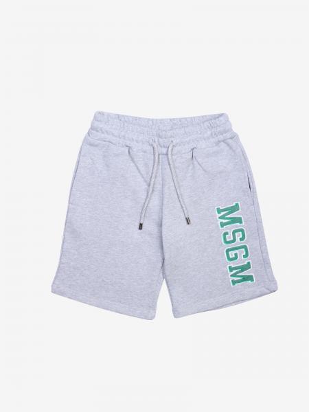 Msgm Kids Jogging Shorts mit Logo