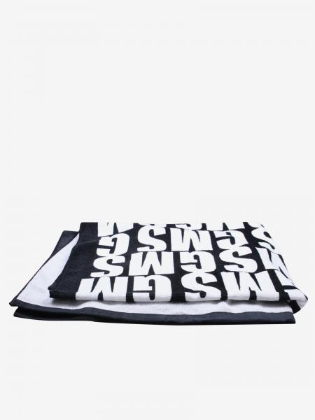 Beach towel Msgm Kids with big logo