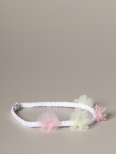 Fascia Il Gufo elasticizzata con pompon in tulle