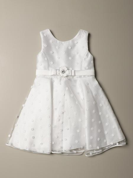 Abel & Lula dress in polka dot tulle