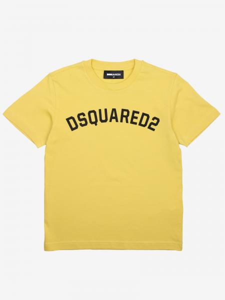 Dsquared2 Junior logo印花T恤