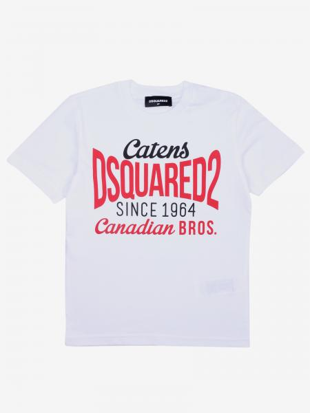 Dsquared2 Junior logo印花 T恤