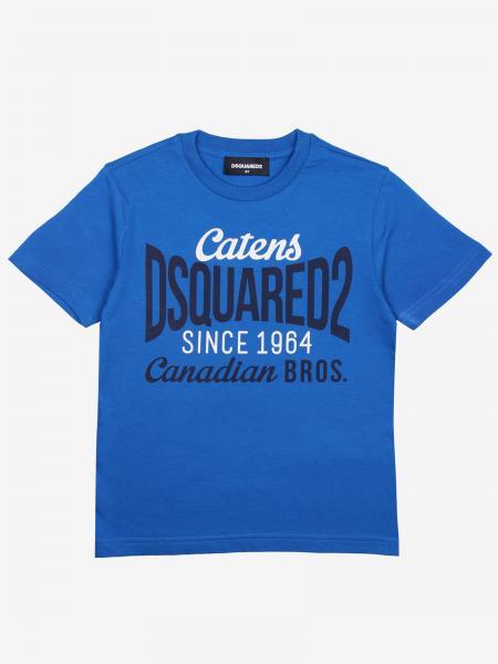 Dsquared2 Junior T-Shirt mit Logo-Print