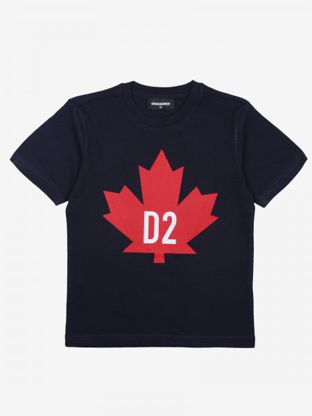Dsquared2 Junior logo印花T恤