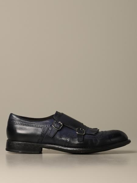 Monk strap Doucal's in pelle con frange