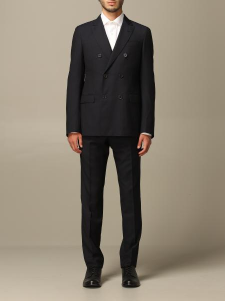 Emporio Armani double-breasted suit