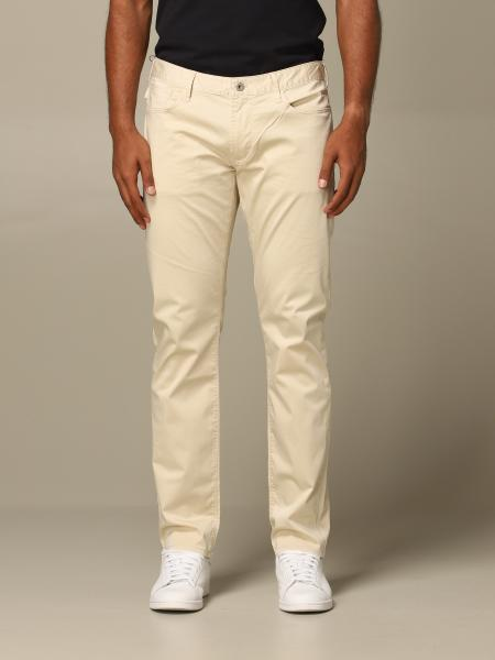 Emporio Armani regular-waisted trousers