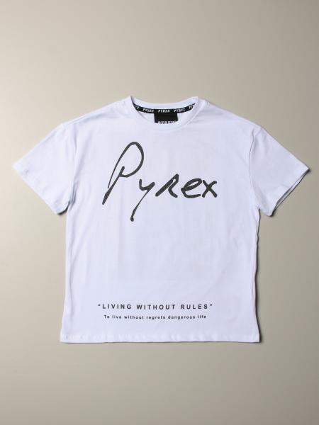 Pyrex T-shirt with logo and landscape print