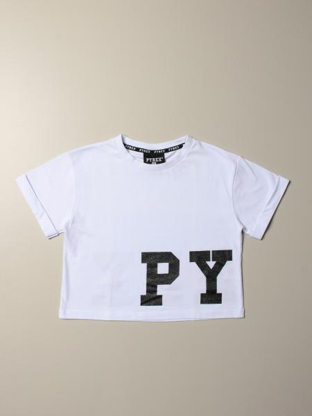 Pyrex cropped T-shirt with logo