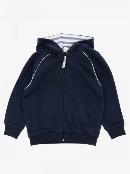 Il Gufo sweatshirt with hood and zip