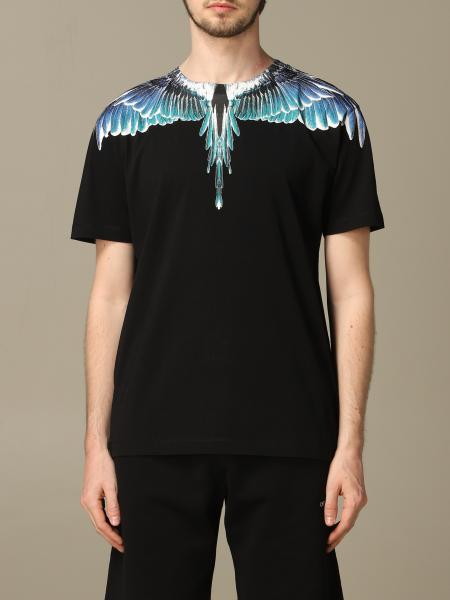 Marcelo Burlon T-shirt with multicolor wings print