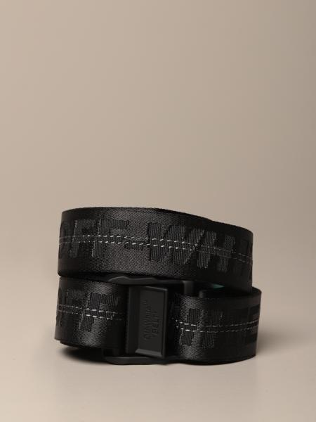 Off White Industrial belt in logoed canvas