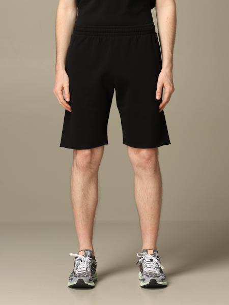 Off White jogging bermuda shorts with logo