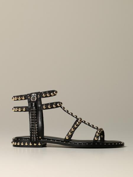 Sandales plates femme Ash